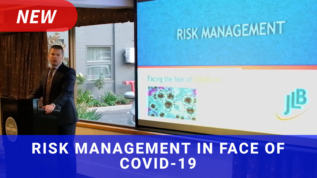 Video: Risk management in the face of COVID-19