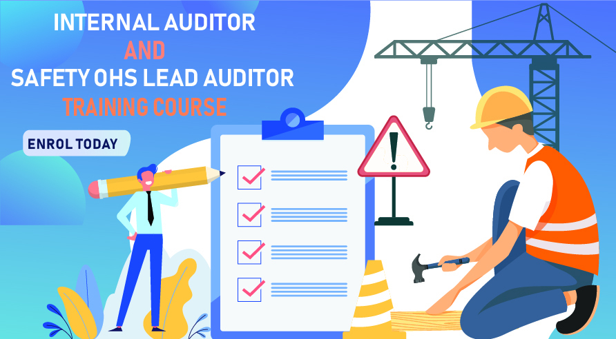 Training Courses:  Internal Auditor Course (7-8 December) and Safety OHS Lead Auditor Course (7-11 December)