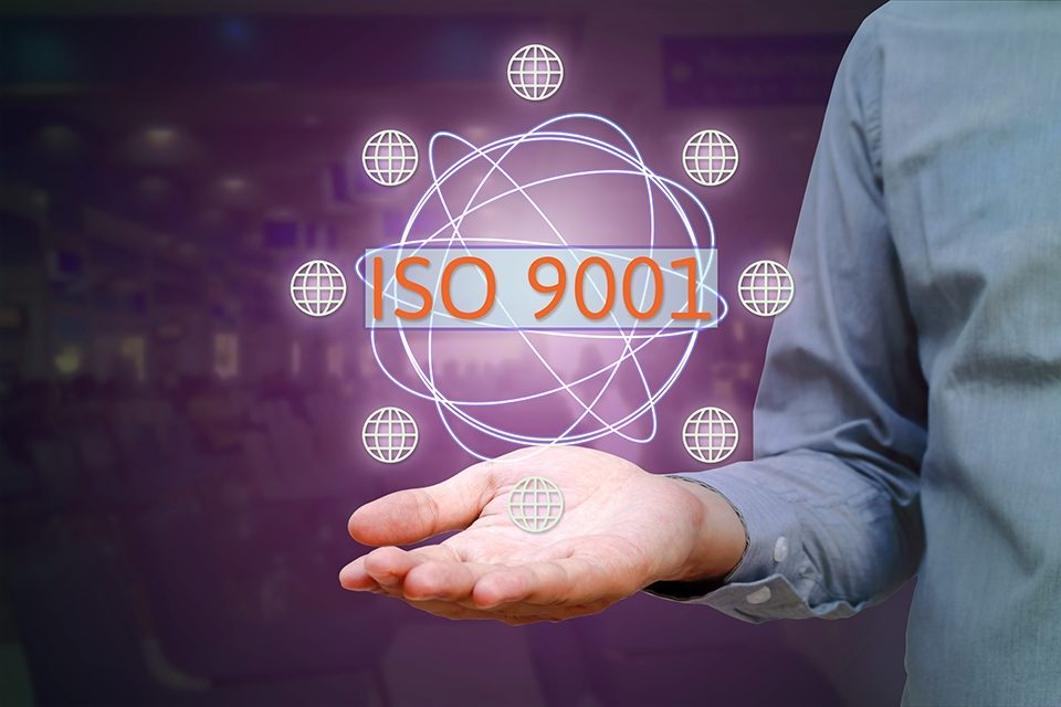 New ISO standards ISO 9001, ISO 14001.
