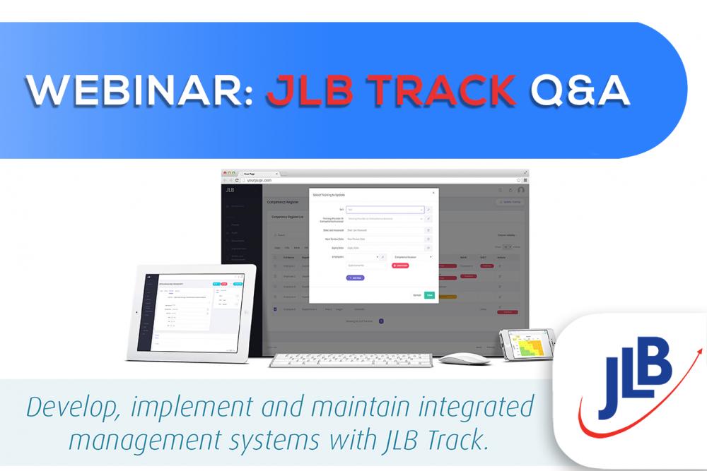 JLB Track Webinar - Online Q&A