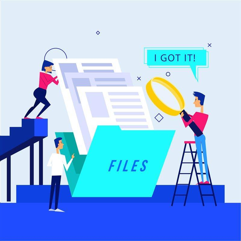 """""""Where is that document?"""" Get a Free trial of JLB Track"""